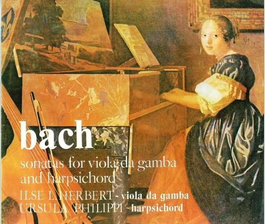 Bach - sonata pentru viola da gamba si clavecin 1