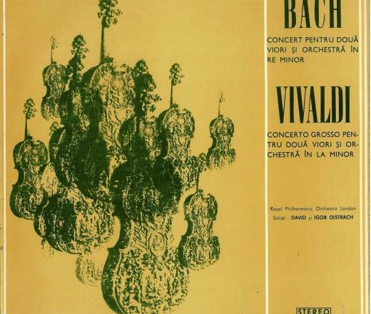 Bach. Vivaldi - concerte pt. 2 viori si orch. 1