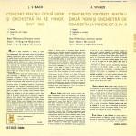 Bach. Vivaldi - concerte pt. 2 viori si orch. 2