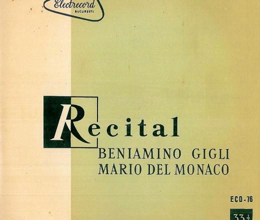 RECITAL BENIAMINO GIGLI