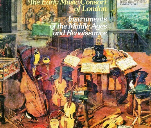 David Munrow Instruments of the Middle Ages 1 - 1 mapa (2 d.) an